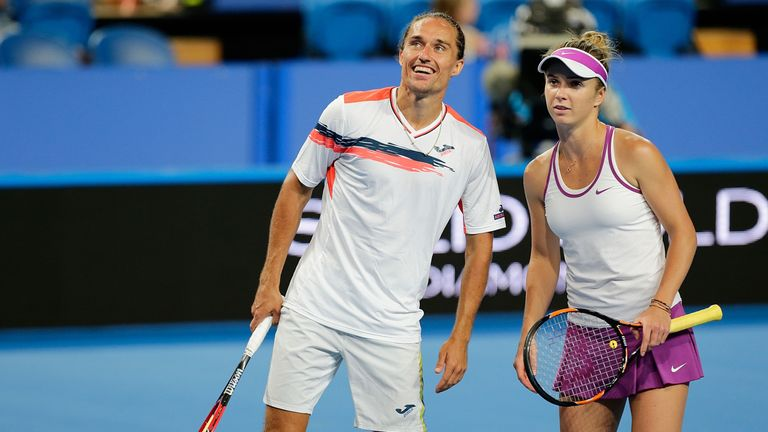 Ukraine duo Alexandr Dolgopolov and Elina Svitolina are in the Hopman Cup final