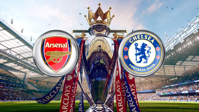 Arsenal entertain Chelsea in the Super Sunday clash at the Emirates