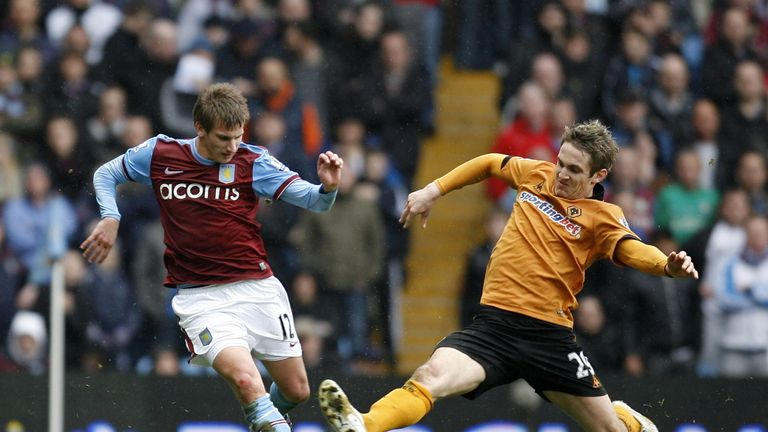 Albrighton began his career at Aston Villa but only showed glimpses of potential
