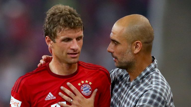 Muller will not be working with Pep Guardiola at Bayern Munich next season