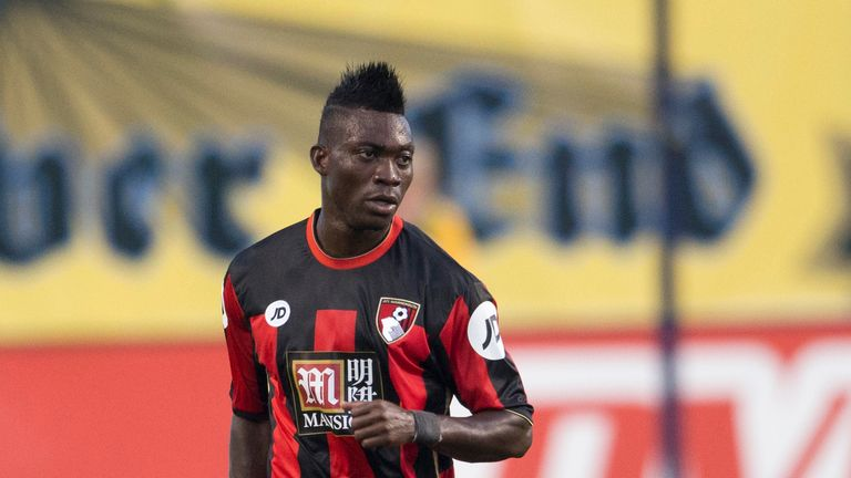 Christian Atsu has joined Malaga on loan until the end of the season