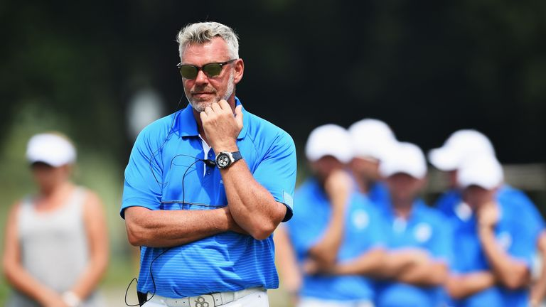 Darren Clarke's Europe side need three-and-a-half points on Sunday