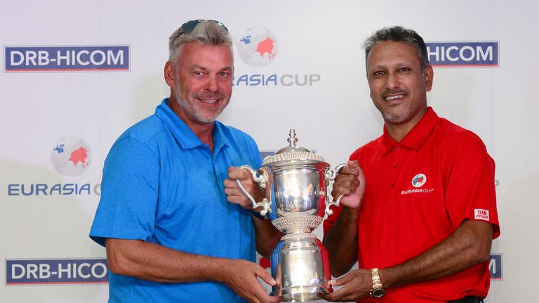 Clarke and Jeev Milkha Singh captain the two sides this week