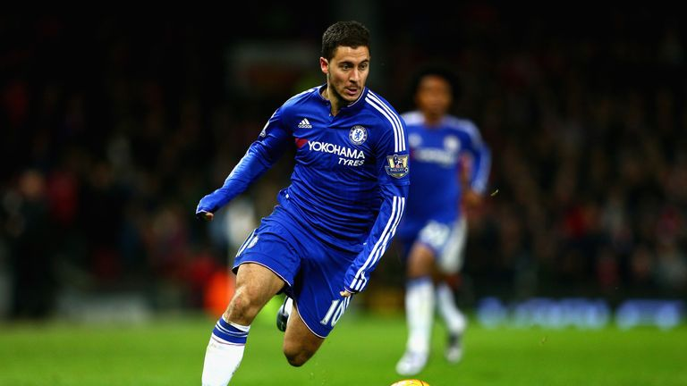 Eden Hazard is set to be available to take on Arsenal