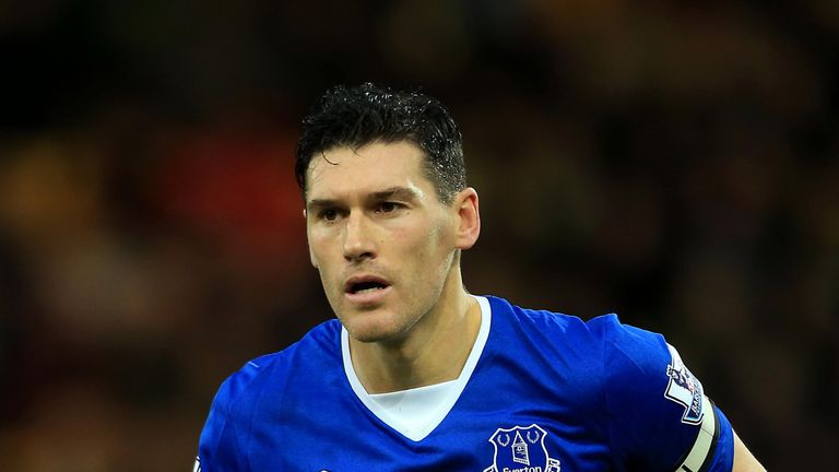Gareth Barry will be missing for Everton through suspension