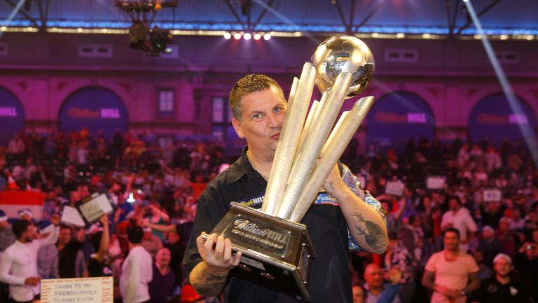 Gary Anderson won the 2015 and 2016 World Championships