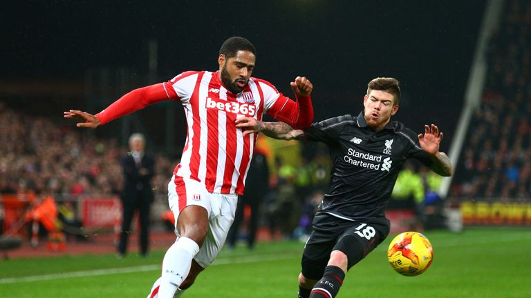 Glen Johnson joined Stoke on a free