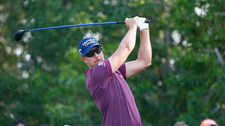 Henrik Stenson was just three off the lead at the halfway stage in Abu Dhabi
