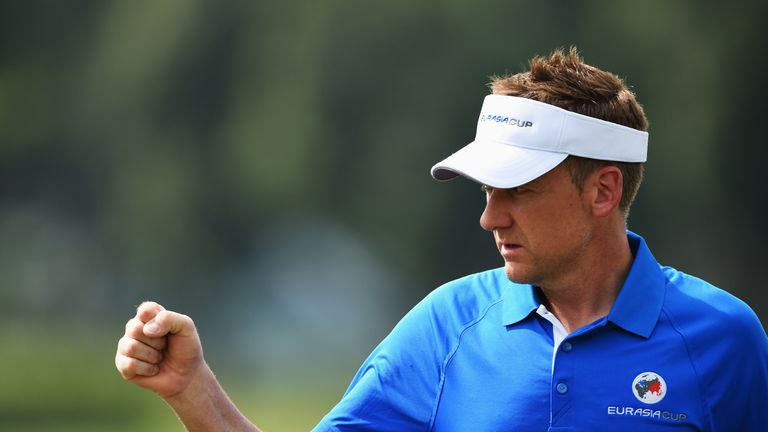Poulter was a captain's pick for the EurAsia Cup in January, and won all three of his matches