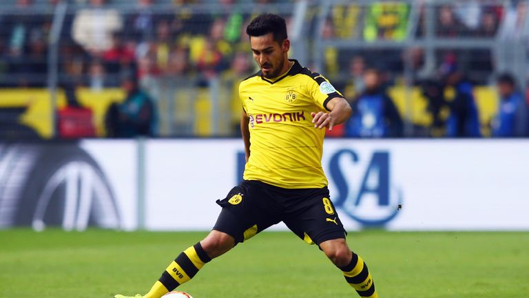 Gundogan is back to his best for Dortmund this season