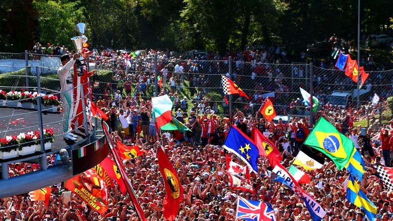 Monza is one of F1's most atmospheric venues and the home of the Ferrari 'Tifosi'