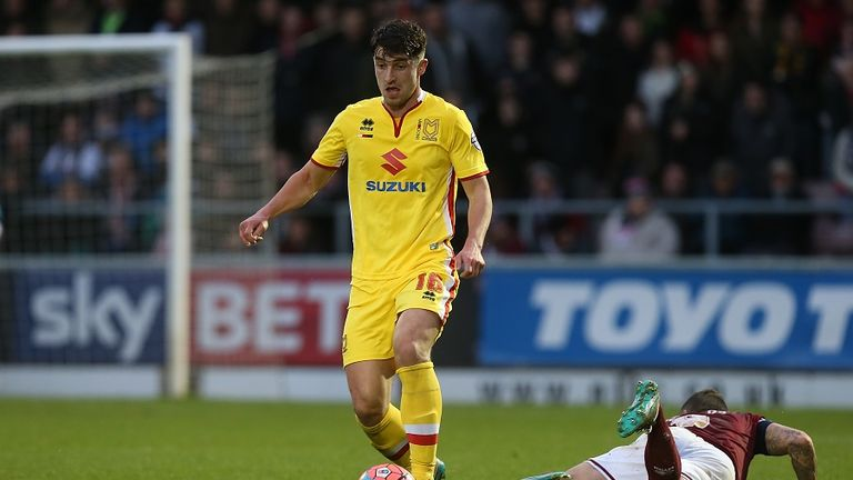 Joe Walsh of MK Dons scored a stunning winner against Reading