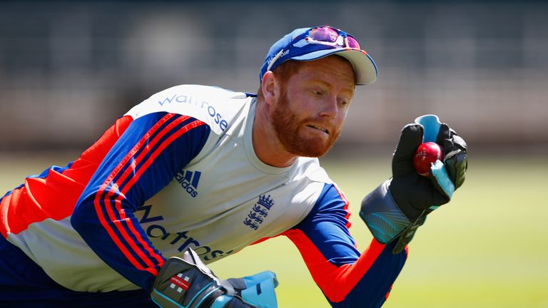 Jonny Bairstow took six catches in South Africa's first innings