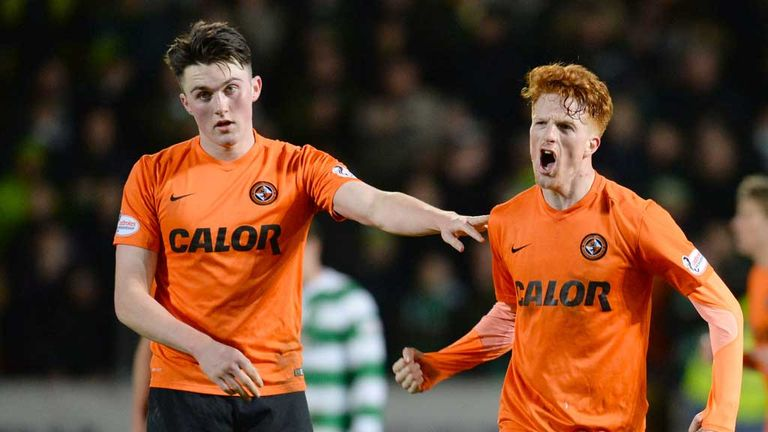 John Souttar and Simon Murray combined well for United's goal