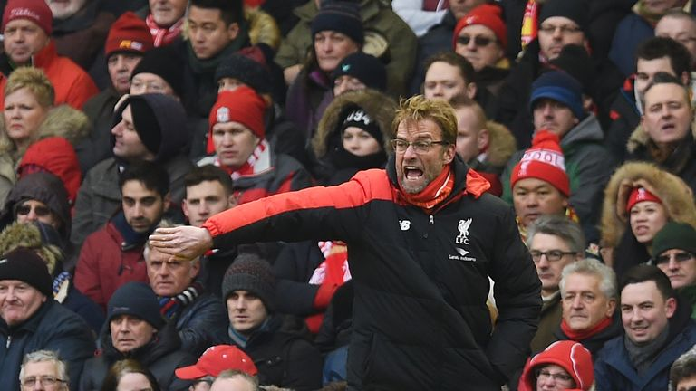 Liverpool manager Jurgen Klopp is still trying to find the right attacking combination