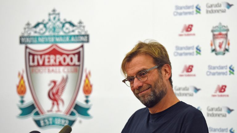 Jurgen Klopp has spoken at length about the expectations at Liverpool