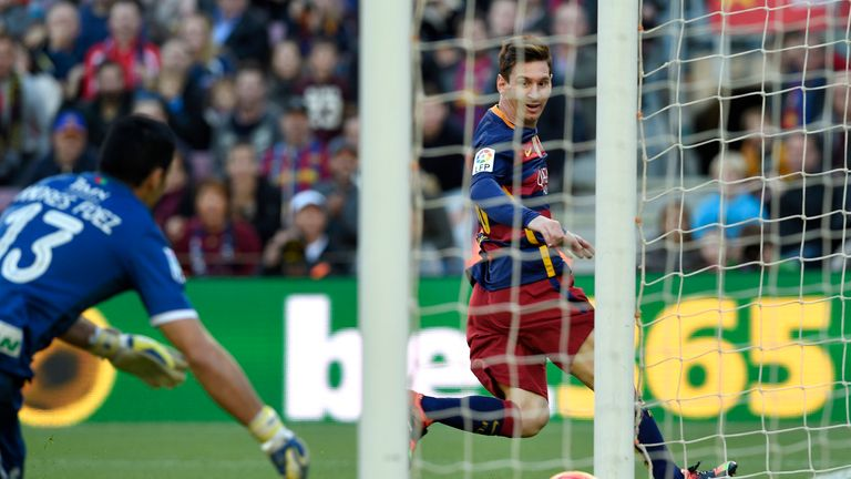 Messi on target in Barca's comfortable victory