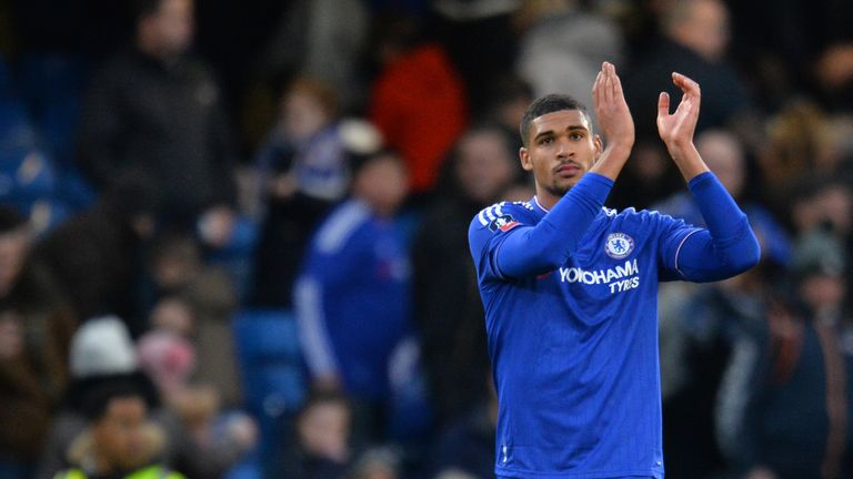 Loftus-Cheek was applauded off the pitch after netting his first goal for the club
