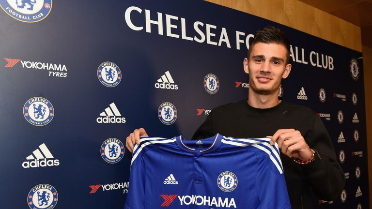 Chelsea's new signing Matt Miazga is also in the squad