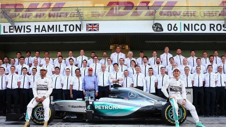 mercedes f1 team profile - constructor history & stats