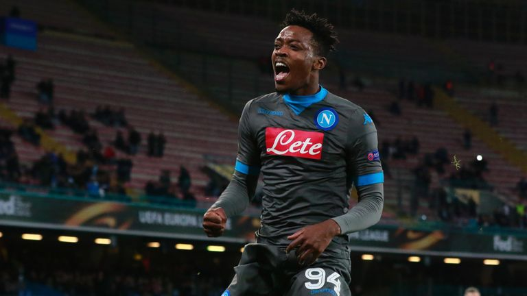 Nathaniel Chalobah is on loan at Napoli, but has featured just twice in Serie A