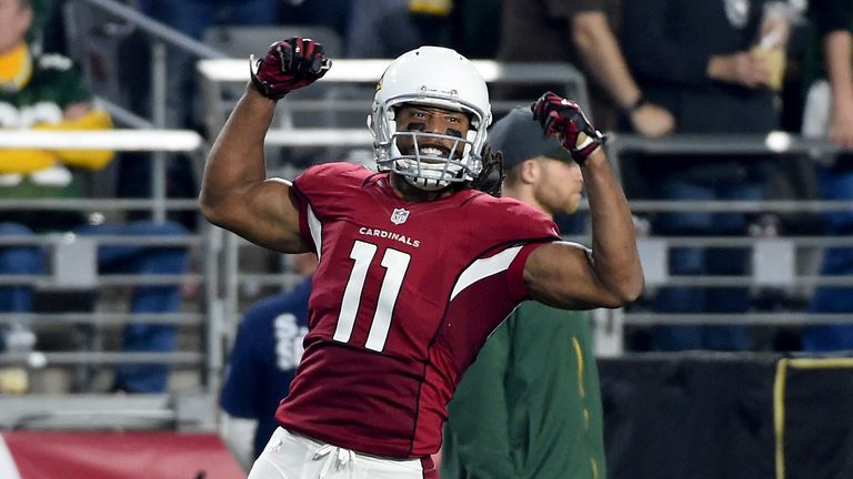 Larry fitzgerald catches 2018