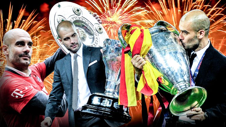 Guardiola has enjoyed remarkable success at Barcelona and Bayern Munich