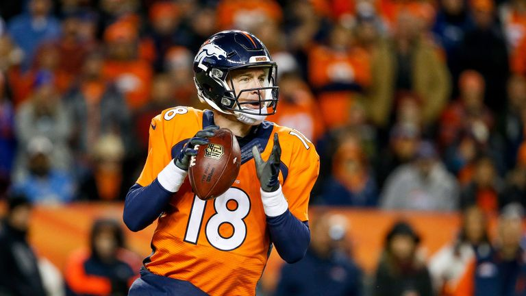 Peyton Manning to start for Denver Broncos in playoffs