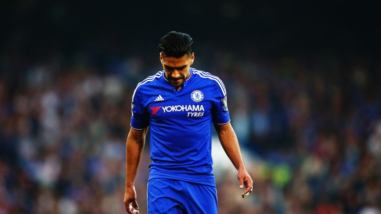 Radamel Falcao's loan spell at Chelsea has been hampered by injuries