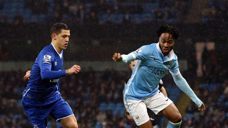 Raheem Sterling looks to find space for City