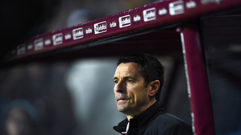 Remi Garde is frustrated at Aston Villa's lack of signings in January