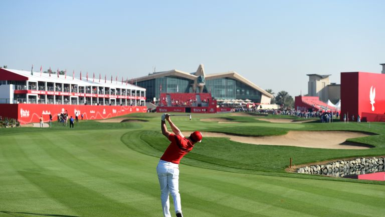 McIlroy posted an opening-round 66 in Abu Dhabi