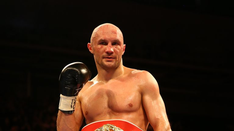 Sergei Khomitsky is in London to take on John Ryder