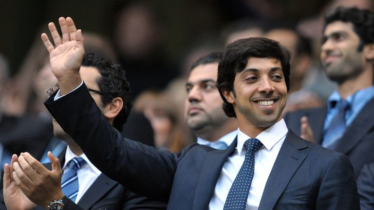 Sheikh Mansour's ownership has helped City to seven trophies in ten years