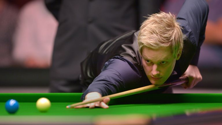 "Neil Robertson said: ""In a way I feel I threw it away."""