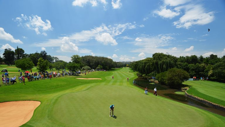 Glendower Golf Club hosts this week's South African Open
