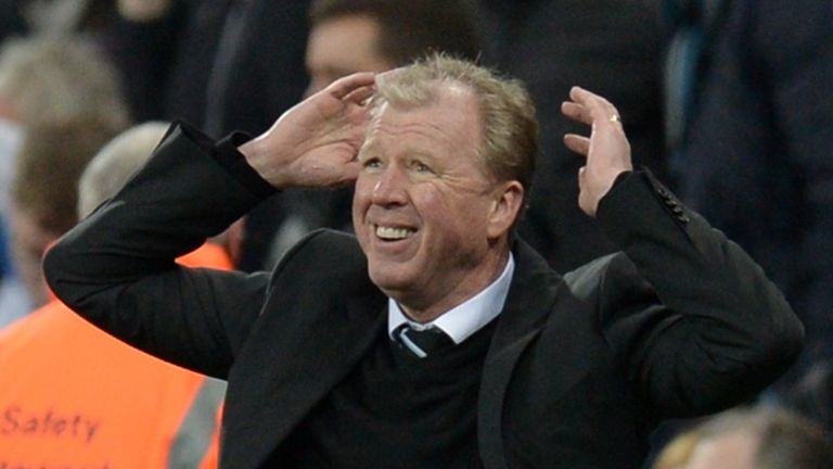 Steve McClaren was appointed Newcastle head coach in the summer