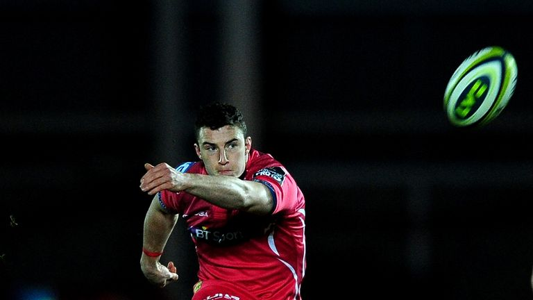 Steven Shingler landed four penalties - but saw one late attempt to win the game go wide
