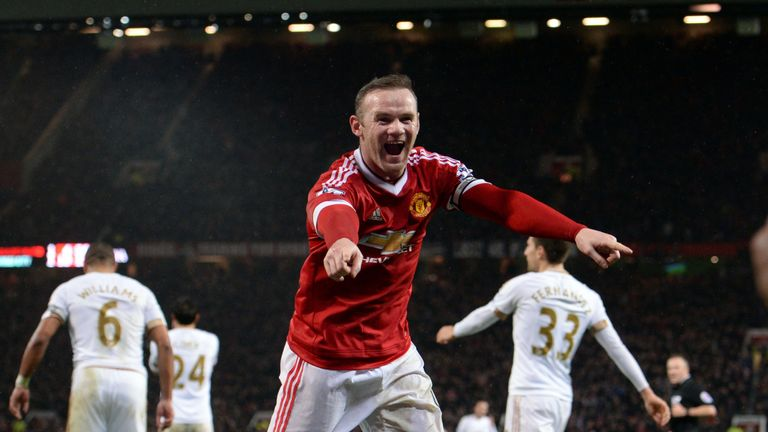 Wayne Rooney notched his 188th Premier League goal