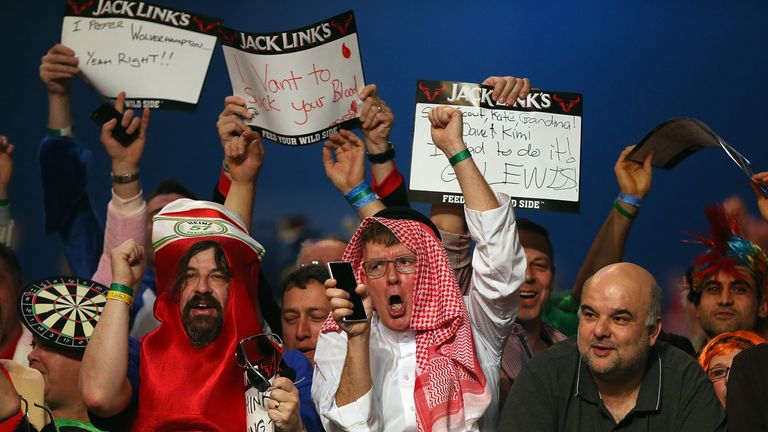 The fun-loving darts culture translated to the World Series of Darts