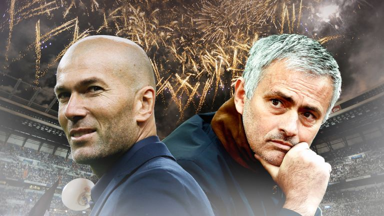 Zinedine Zidane has warned Jose Mourinho off Varane
