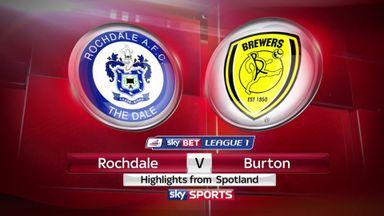 Rochdale 2-1 Burton