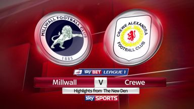 Millwall 1-1 Crewe