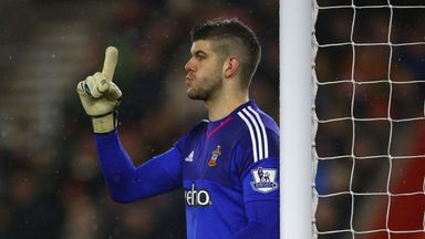 Fraser Forster is hoping to record a sixth successive shut-out against the Swans this weekend