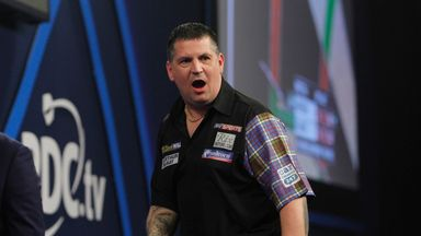 Gary Anderson missed the Premier League's opening night in Leeds