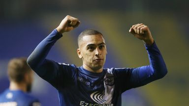 James Vaughan: Two goals for Bury