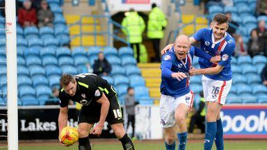 Macaulay Gillesphey (r) has rejoined Carlisle on loan