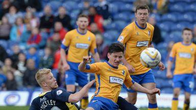 Jayden Stockley scored the equaliser for Exeter