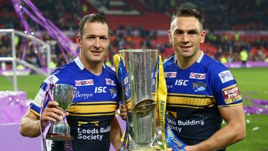 No Headingley return for Kevin Sinfield (right)