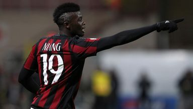 M'Baye Niang was linked with Leicester City over the January window